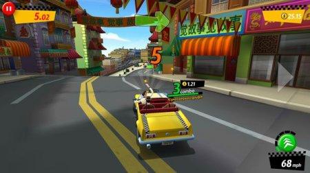 Скриншот игры Crazy Taxi City Rush