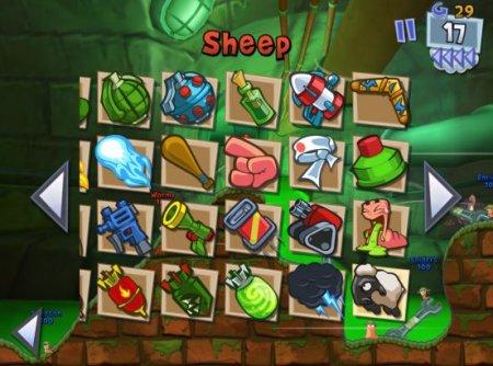 Скачать игры Worms 3 для Android