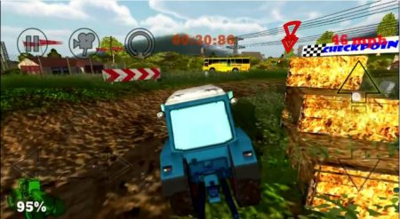 Crazy Farm Racing 3D