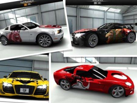 Скриншот игры CSR Racing