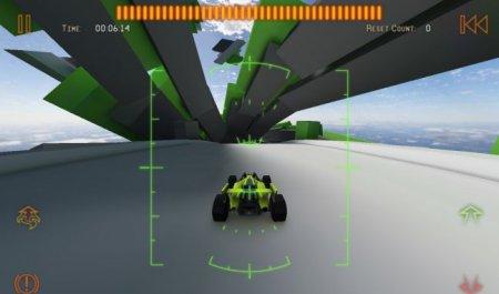 Скриншот игры Jet Car Stunts 2