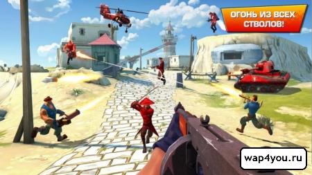 Скриншот игры Blitz Brigade