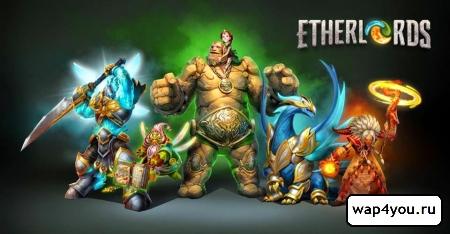 Обложка игры Etherlords