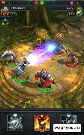 Скриншот игры Etherlords