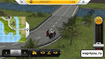 Скриншот игры Farming Simulator 14