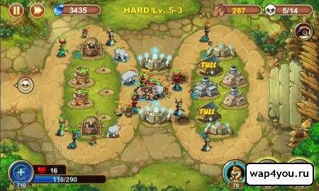 Скриншот Castle Defense для Android
