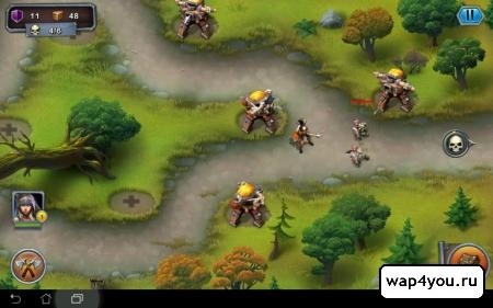 Скриншот игры Гоблины: Защитники для ВК