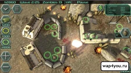 Скриншот игры Zombie Defense