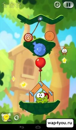 Скриншот игры Cut The Rope 2