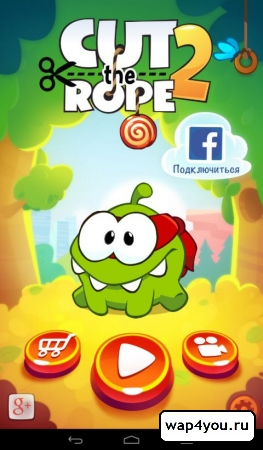 Скриншот Cut The Rope 2 для Android