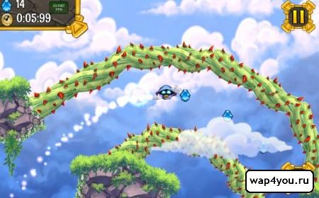 Скриншот игры SkyJumper