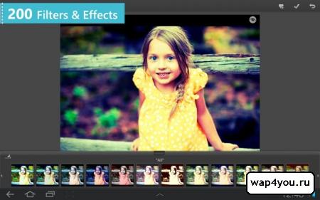 Скриншот Photo Studio PRO на Андроид