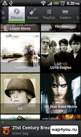 Скриншот PlayerPro Music Player