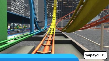 Скриншот игры VR Roller Coaster