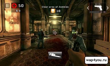 Скриншот DEAD TRIGGER 2 для Android гаджетов
