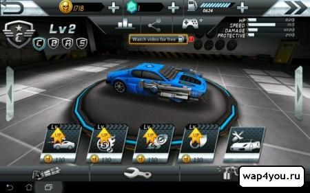 Взломанная игры Death Race:Crash Burn