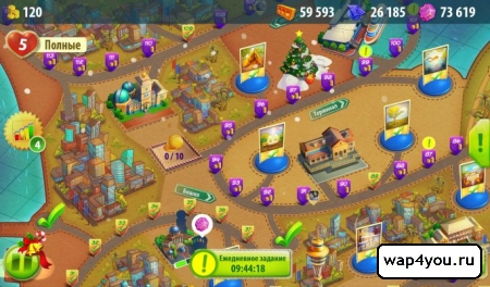 Скриншот игры Конфетки! на Android
