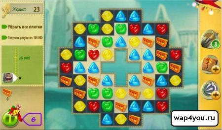 Скриншот игры Конфетки! на Андроид