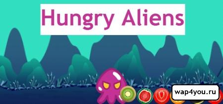Обложка Hungry Aliens на Андроид