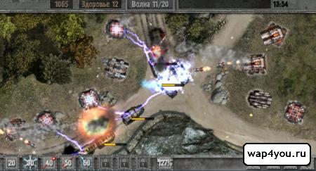 Скриншот Defense zone 2 HD на Андроид