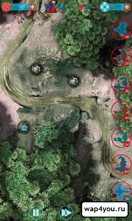 Скриншот игры Galaxy Defense 2: Transformers