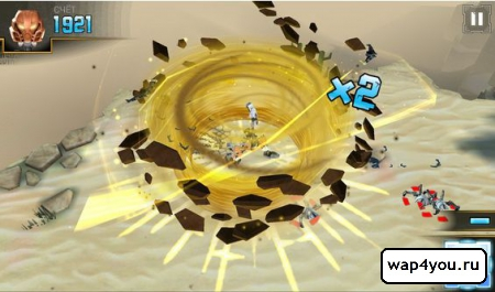 Скриншот игры LEGO BIONICLE