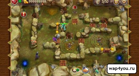 Скриншот Герои Сантории на Android