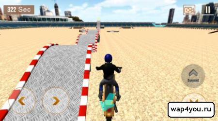 Скриншот Crazy Biker 3D