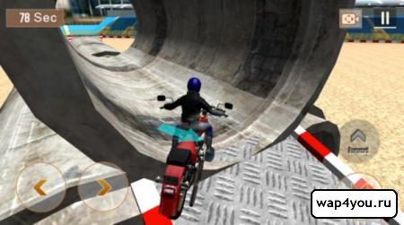 Скриншот игры Crazy Biker 3D