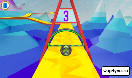 Скриншот Iron Ball Ride на Android