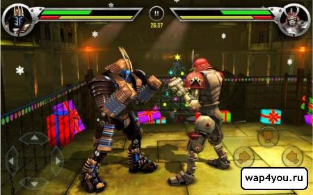 Скриншот Real Steel HD на андроид