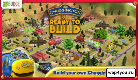 Обложка Chuggington Ready To Build