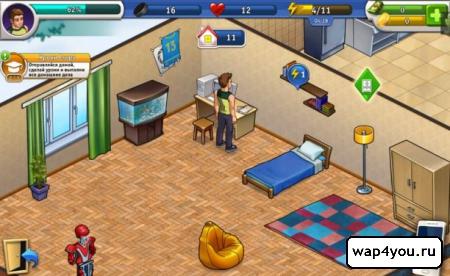 Скриншот игры молодежка