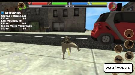 Скриншот Stray Dog Simulator на андроид