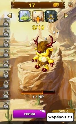 Скриншот игры Clicker Wars