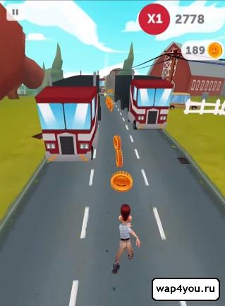 Скриншот Run Forrest Run