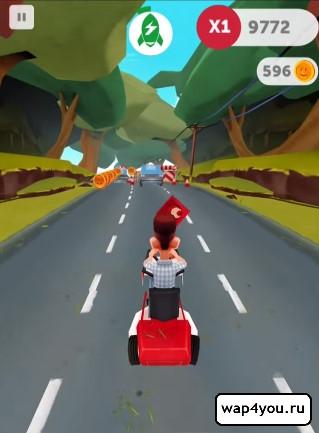 Скриншот игры Run Forrest Run