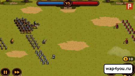 Скриншот игры Mini Warriors