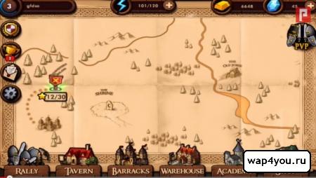 Скриншот Mini Warriors