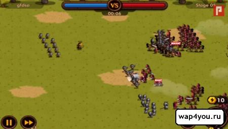 Скриншот Mini Warriors на Андроид