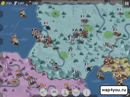 Скриншот игры European War 4 Napoleon