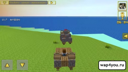 игра Blocky Cars на андроид
