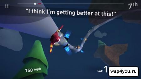 Скриншот Tail Drift для Android