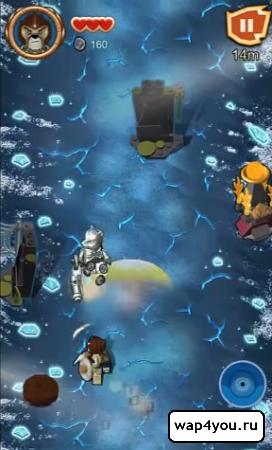 Скриншот игры LEGO Chima: Tribe Fighters