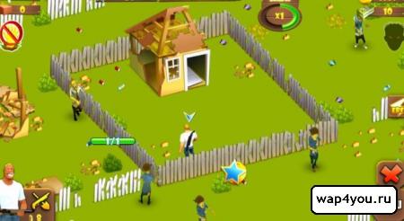 Скриншот игры Zombie Lane
