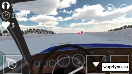 Скриншот игры Russian Winter Traffic Racer