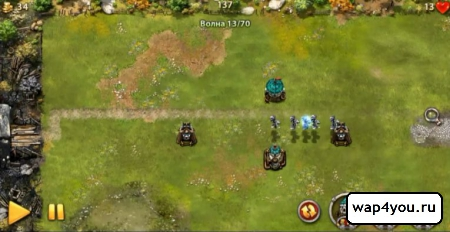 Скриншот игры Myth Defense LF