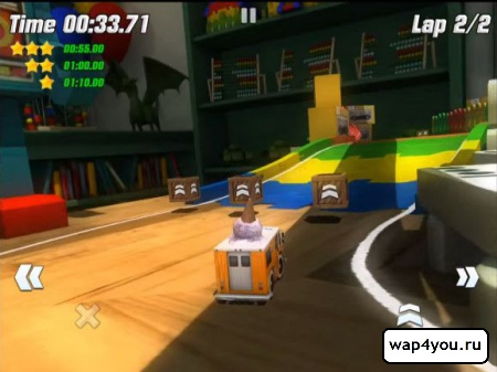 Скриншот Table Top Racing на Андроид