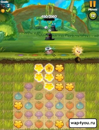 Скриншот Best Fiends игра на Android