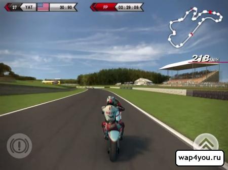 Скриншот игры SBK14 Official Mobile Game